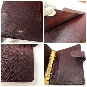 Louis Vuitton Bags - SoldLouis Vuitton Taiga Leather Agenda Cover MM
